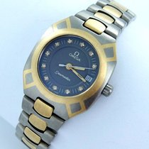 Omega Seamaster Polaris Damenuhr Titan/gold Brillanten Datum...