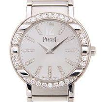 Piaget Polo 18k White Gold Silver Quartz G0A26031