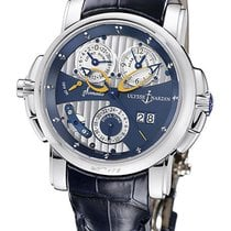 Ulysse Nardin Sonata Cathedral Dual Time 18k White Gold...