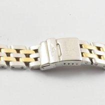 Breitling Pilotband 15mm Stahl/gold Pilot Callistino 767d