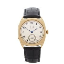 Alfred Dunhill Vintage 18k Yellow Gold Gents - COM1211