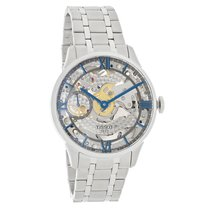 Tissot Des-Tourelle Men Skeleton Mechanical Watch T099.405.11....