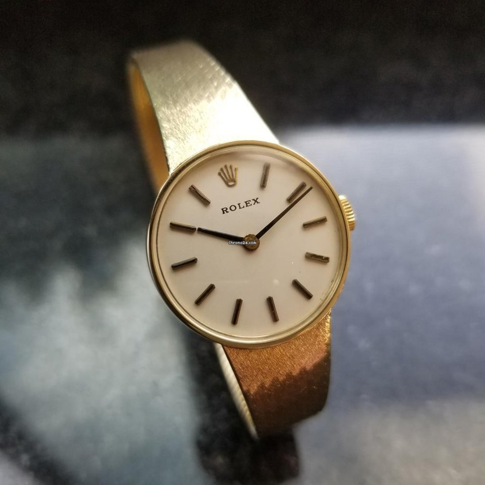 572752b9a Rolex Ladies 14K Solid Yellow Gold 8317 Cocktail Dress Watch... for 4,651 €  for sale from a Trusted Seller on Chrono24