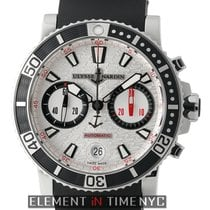 Ulysse Nardin Maxi Marine Diver Chronograph Stainless Steel...