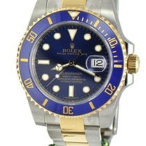 Rolex 116613blu twotone Submariner Ceramic Blue Dial