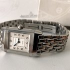 Jaeger-LeCoultre Reverso Duetto Ladies Watch Steel Diamonds...