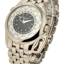 Patek Philippe 5130/1G-011 5130 World Time - White Gold on...