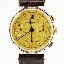 Baume & Mercier 18K Gold Vintage Chronograph (rare and...