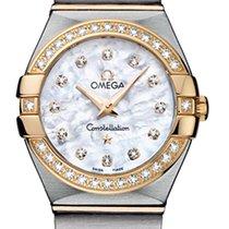 Omega Constellation Brushed 24mm 123.25.24.60.55.003