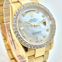 Ρολεξ (Rolex) Day-Date LC100 18K Day Date Diamant Lünette MOP...
