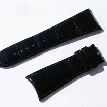 萧邦 (Chopard) Croco Band Strap Black 24 Mm 70/105 New C24-1