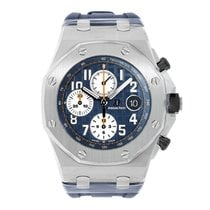Audemars Piguet AP Royal Oak Offshore Chronograph Navy Blue Dial