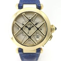 Cartier Pasha Yellow Gold Big size and grid 1986 Full set