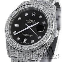 Rolex Diamond Rolex Datejust Ii 116300 41mm Stainless Steel...