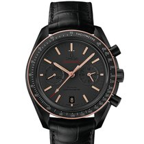 Omega MOONWATCH SEDNA BLACK CO-AXIAL CHRONOGRAPH 44.25MM