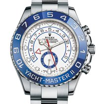 Rolex Yacht-Master II Steel Silver Arms New Model