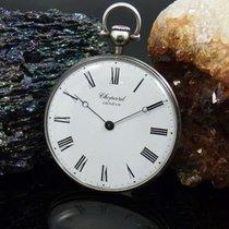 Chopard Taschenuhr L.u.c. 800 Er Silber | Ø 42 Mm | Cal. 7001