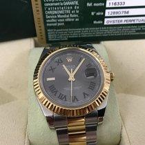 Rolex Datejust II Green Roman LC100