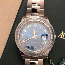 Rolex Datejust II Blue Roman Dial 41mm [NEW]