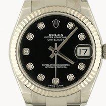 Rolex Datejust Medium 31mm Stahl/Weißgold Oyster Armband...