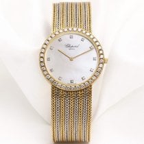 Chopard 18k White & Yellow Gold Mother of Pearl Diamond...