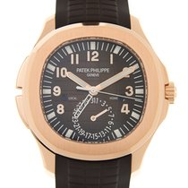 百達翡麗 (Patek Philippe) Aquanaut 18k Rose Gold Brown Automatic...