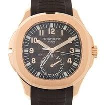 Patek Philippe Aquanaut 18k Rose Gold Brown Automatic 5164R-001