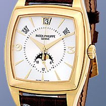 "Patek Philippe Gent's 18K Yellow Gold  Ref # 5135 ""Gon..."