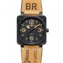 Bell & Ross BR 01-92 Heritage Swiss Black Carbon