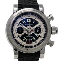 Graham Grand Silverstone Ref. 2GSIAS Chronograph GMT Steel...
