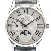 Ζενίθ (Zenith) Elite Ultra Thin Lady Moonphase Stahl Automatik...