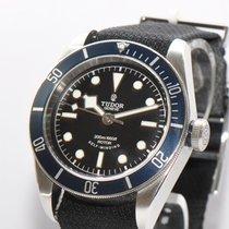 튜더 (Tudor) Tudor Heritage Black Bay Stahl Uhr Papiere Box 79220B