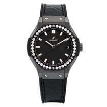 Hublot Classic Fusion Black Magic Diamonds Quartz 33 mm