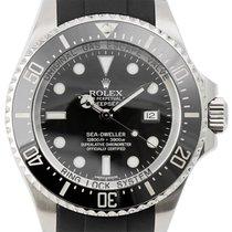 """Rolex DeepSea Sea-Dweller in Stainless Steel on a """"Rubber B""""..."""