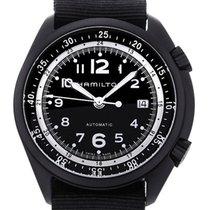 Hamilton Khaki Aviation 41 Pilot Pioneer Black