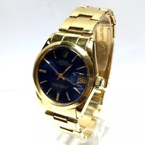 Rolex Oyster Perpetual Date 18k Solid Gold Men's/unisex...