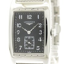 ロンジン (Longines) Polished Longines Bellearti Steel Quartz Mens...