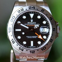 Rolex Explore II Black Dial Stainless Steel 42 mm