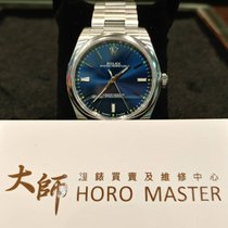 Rolex Horomaster- 114300 Oyster Perpetual Blue Index Dial 39mm