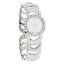 Movado Rondiro Diamond Ladies MOP Swiss Quartz Watch 0605526