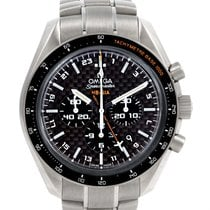 Omega Speedmaster Hb-sia Co-axial Gmt Titanium Watch 321.90.44...
