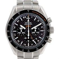 オメガ (Omega) Speedmaster Hb-sia Co-axial Gmt Titanium Watch...