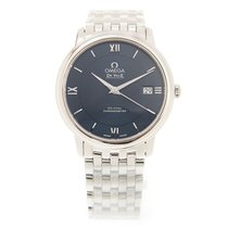 Omega De Ville Stainless Steel Blue Automatic 424.10.37.20.03.001