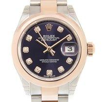 勞力士 (Rolex) Lady Datejust 18k Rose Gold And Steel Purple...