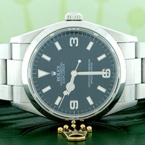 Rolex Explorer Black Dial 36mm Automatic Stainless Steel...