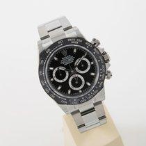 Rolex Daytona Stahl new model black dial unworn