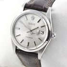 Rolex Oysterdate Precision Edelstahl Herrenuhr