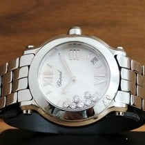 Chopard Happy Sport 7 Diamonds Floating mother of pearl Dial
