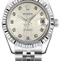 Rolex Datejust 31mm Stainless Steel 178274 Jubilee Silver...