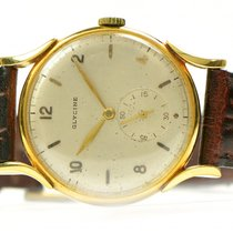 Glycine Vintage Glycine 18k Yellow Gold 1950s Manual 35mm Rare...
